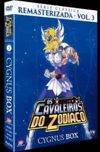 DVD Os Cavaleiros do Zodíaco - Série Clássica Remasterizada - Volume 03 - 5 Discos