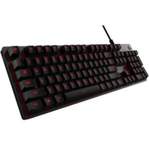Teclado Mecânico Gamer Logitech G413 Carbon, LED Vermelho, Switch Romer-G Tactile   R$349