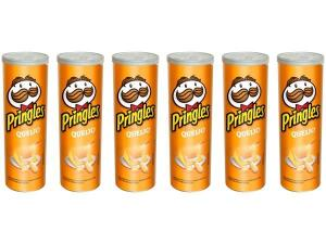 [APP] Kit Batata Pringles Queijo 6 Unidades-120g Cada