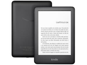 "Kindle 10ª Geração Amazon Tela 6"" 4GB Wi-Fi - Luz Embutida - R$275"