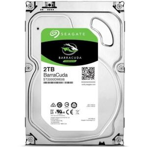 HD Seagate BarraCuda, 2TB, 3.5', 7200rpm SATA - ST2000DM008