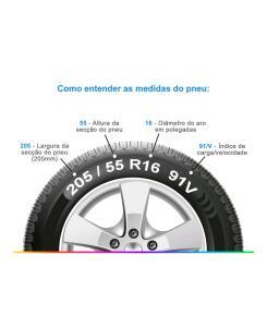Pneu 205 55 r16 Michelin Primacy 4