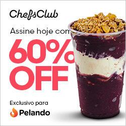60% OFF na assinatura anual do ChefsClub