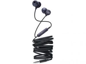 Fone de Ouvido Philips Upbeat SHE2405BK/00 - Intra-auricular com Microfone Preto R$ 33