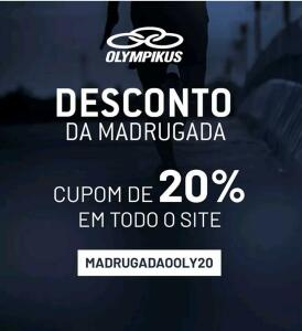20% OFF site da Olympikus