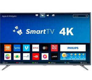 APP [Com AME R$ 1.543] Smart TV Led 50 Philips 4k UHD - 50PUG6513