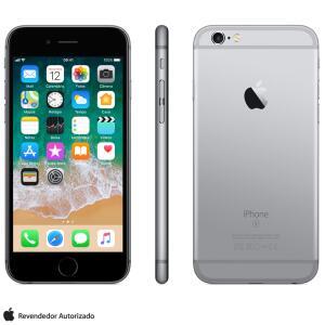 "iPhone 6s Cinza Espacial, com Tela de 4,7"", 4G, 32 GB - R$1399"
