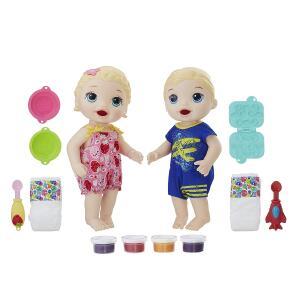 Bonecos Baby Alive Hasbro Gêmeos Comilões R$119