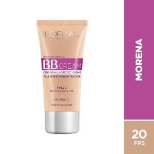 BB Cream L'Oréal Paris cor Morena FPS 20 30ml - R$17