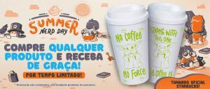 Na Compra de um Produto Ganhe um Copo de Café