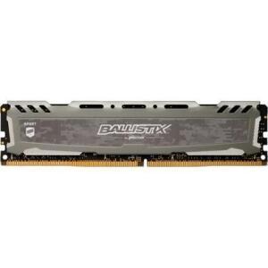 Memória Crucial Ballistix Sport LT, 8GB, 3000MHz, DDR4, CL15, Cinza - BLS8G4D30AESBK