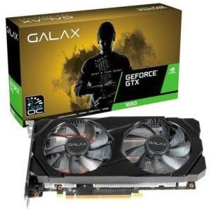 Placa de Vídeo Galax NVIDIA GeForce GTX 1660 1-Click OC, 6GB, GDDR5