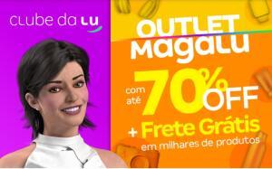 Outlet Magalu até 70%OFF