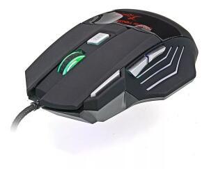 Mouse Gamer V4 2400dpi Led 7 Cores Usb 2.0 - R$22