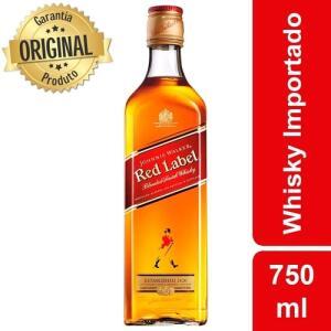 (CC Americanas) Whisky Escocês Red Label Garrafa 750ml - Johnnie Walker