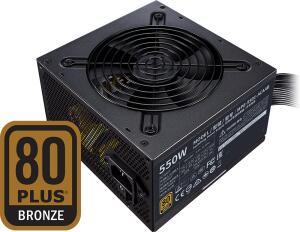 Fonte Cooler Master MWE V2 550W, 80 Plus Bronze, PFC Ativo, MPE-5501-ACAAB-BR R$275