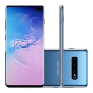 [R$ 2519 - AME/CC SUB] Samsung Galaxy S10+ 128GB Azul