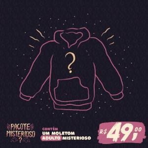 MOLETOM SURPRESA UNISSEX - NERD UNIVERSE R$ 49