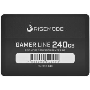 SSD Rise Mode Gamer Line 240GB, SATA, Leitura 535MB/s, Gravação 435MB/s - RM-SSD-240