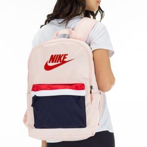 Mochila Nike Heritage 2.0 - Rosa e Vermelho R$88