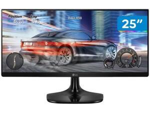 Monitor LED LG 25- UltraWide IPS Full HD 25UM58-P.AWZ com Entrada HDMI