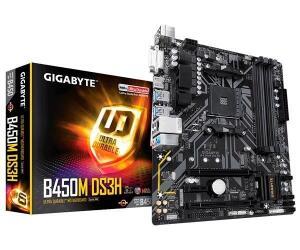 Placa Mae Gigabyte B450M DS3H DDR4