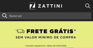 Frete grátis em TODO site Zattini. Sem valor mínimo!
