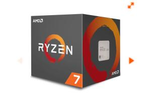 Processador AMD Ryzen 7 2700 3.2GHz / 4.1GHz Max Turbo YD2700BBAFBOX Octa Core 16MB Cooler Wraith Spire com LED
