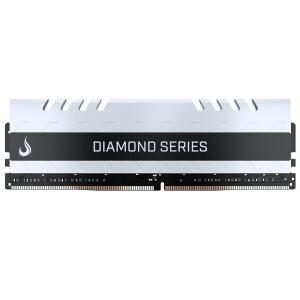 Memória Rise Mode Diamond 16GB , 3200MHz , DDR4, CL15, White - RM-D4-16G-3200D