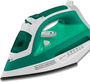 [À VISTA] Ferro a Vapor Black and Decker AJ3030 com Spray – Verde R$68