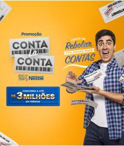 Promoção Nestlé - Conta la Conta