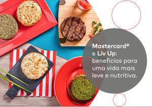 Desconto de R$20 em R$50 com Mastercard na Liv Up