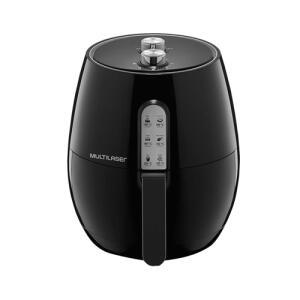 Fritadeira Elétrica Multilaser Air Fryer CE049 1400W 127V - R$204