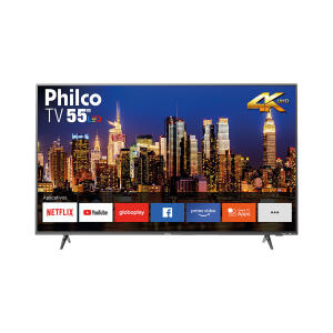 "Smart TV LED 55"" Philco PTV55F62SNT Ultra HD 4K   R$1.859"