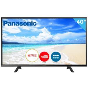 "Smart TV LED 40"" Panasonic TC-40FS600B Full HD | R$1.024"