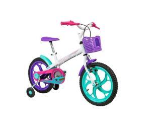 Bicicleta Infantil Caloi Ceci Aro 16 - Branco | R$320