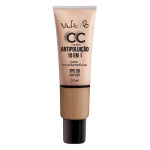 Base Facial Vult - CC Cream Antipoluição 10 em 1 Mb04 | R$24