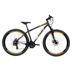 Bicicleta Mtb Caloi Vulcan Aro 29 Susp Diant 21 Vel - Cinza