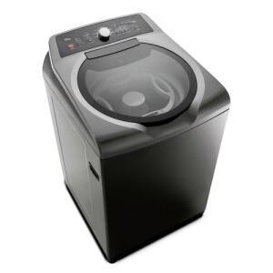 Máquina de Lavar Brastemp 15kg Double Wash Grafite Metálico - BWD15A9 - 220V | R$2.129