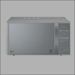 Micro-ondas LG Grill Prata Espelhado 30L 220v - MH7053RA.FS1GLGZ