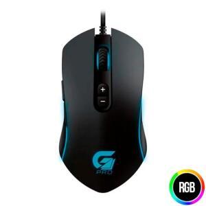 Mouse Gamer Fortrek PRO M7 RGB 4800dpi USB, 64386