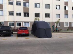 Garagem flex retrátil para carros