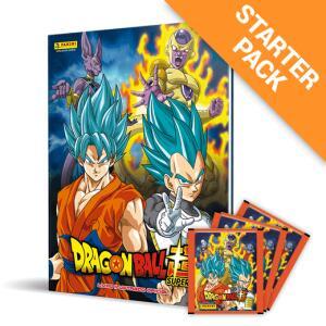 Starter Pack - Kit Capa Dura - Dragon Ball Super Álbum Capa Dura + 10 cromos sortidos