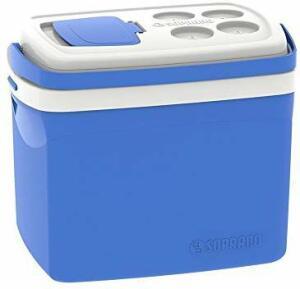 Caixa Térmica Tropical 32L, Azul, Grande - Soprano