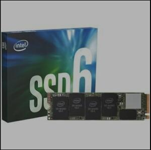 SSD Intel 660P Series, 512GB, M.2 NVMe, Leitura 1500MB/s, Gravação 1000MB/s -
