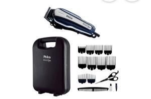 Maquina de cortar cabelo Philco Titanium 127v 220v