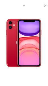 Iphone 11 128gb Vermelho - PELO APP SUBMARINO