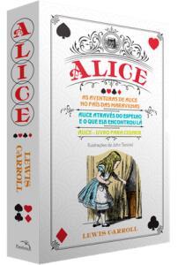 Box - Alice No País Das Maravilhas - 3 Volumes