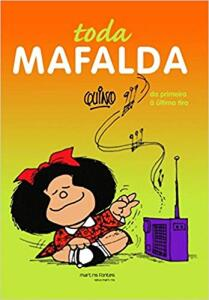 Mafalda - Toda Mafalda (Português) Capa dura R$111