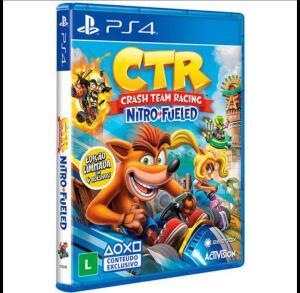 Crash Team Racing Nitro Fueled - PlayStation 4 - Edição Padrão | R$131